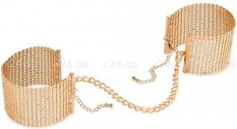 Дизайнерские наручники, цвет Золотой