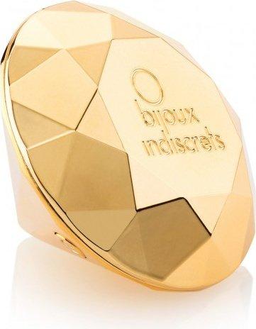 Изысканный вибратор Twenty One - Vibrating Diamond