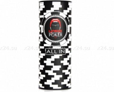 Небольшой мастурбатор в футляре Lingox Poker, фото 4