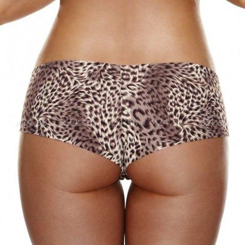 Невидимые трусики леопардовые Hollywood Curves, фото 2