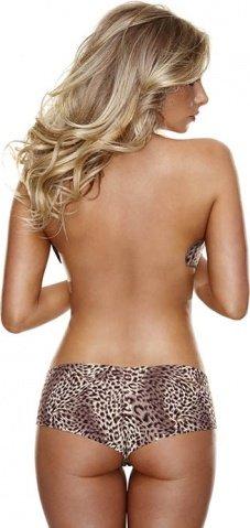 Невидимые трусики леопардовые Hollywood Curves ML, фото 9