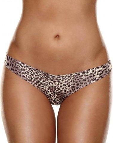 Невидимые трусики стринги леопардовые Hollywood Curves, фото 3