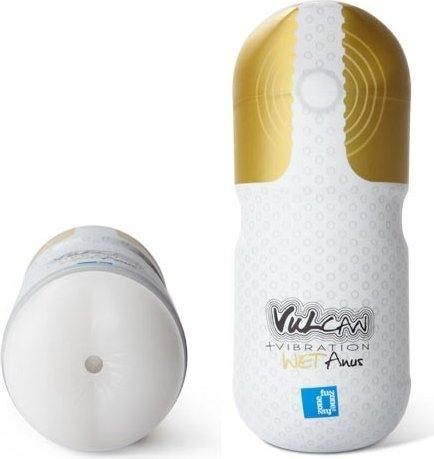 Мастурбатор-анус с вибрацией Vulcan Love Skin Masturbator Wet Anus + Vibe