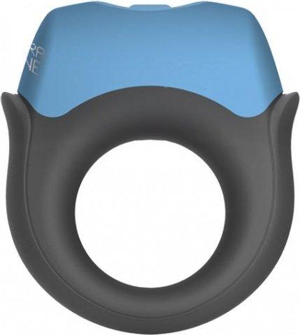 Эрекционное кольцо с вибрацией Polar Night Vibrating Silicone Cock Ring