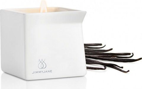 Массажная свеча Jimmyjane Afterglow Massage Candle, цвет Ваниль