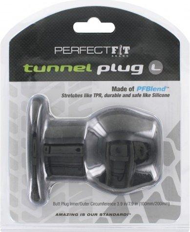 ������ � �������� - perfect fit tunnel plug black l, ���� 3