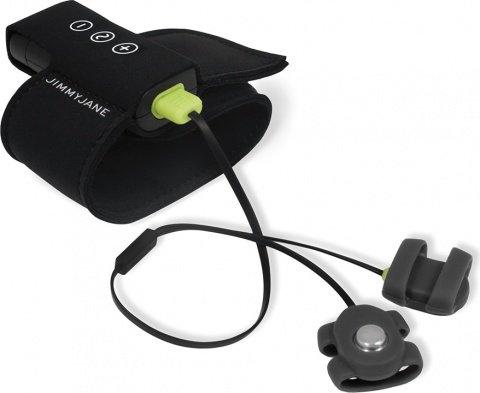 Сенсорный электростимулятор с вибрацией - hello touch x black