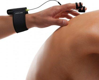 Сенсорный электростимулятор с вибрацией - hello touch x black, фото 3