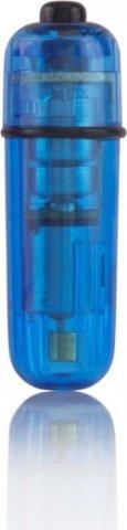 Вибропуля синяя Bullets, фото 3