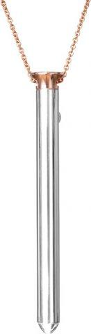Стильный вибратор для клитора Crave Vesper, цвет Серебряный