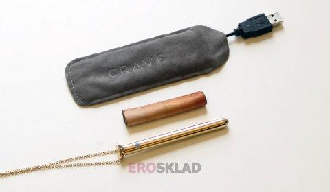 Стильный вибратор для клитора Crave Vesper, цвет Серебряный, фото 5
