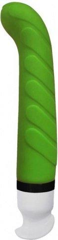 Вибратор Poseidon Nautica 6 режимов вибрации, зеленый 17,8 см, силикон