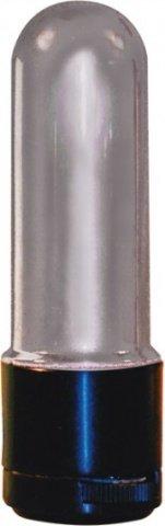 Минивибратор Зайчик, гелевый, розовый, П-41, фото 2