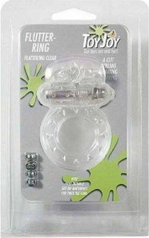Виброкольцо на пенис Flutter-Ring Clear 9346TJ, фото 3