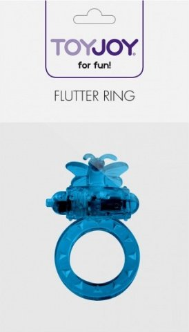 Виброкольцо на пенис Flutter-Ring Blue 9348TJ, фото 3