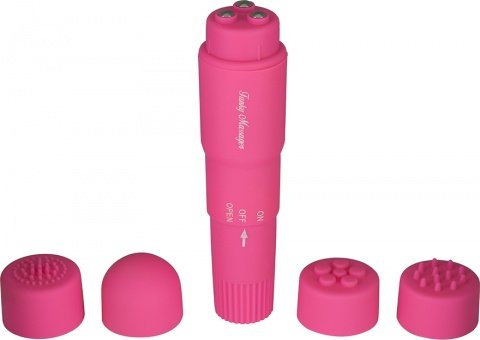 Виброракета funky massager pink 9800tj