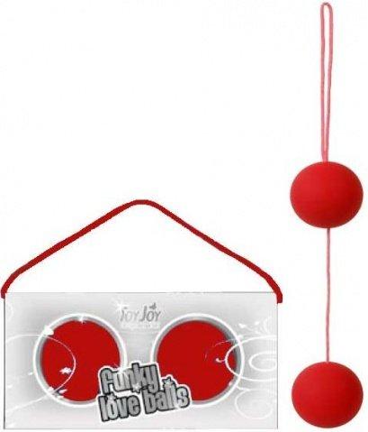 Вагинальные шарики Funky Pink 9852TJ, фото 2