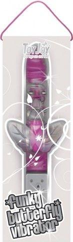 Hi-tech вибратор Funky Butterfly Violet 9984TJ 22 см, фото 3