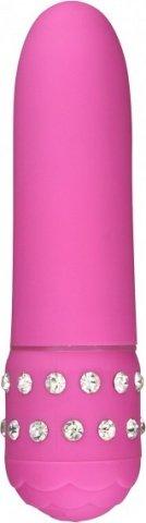 Вибратор Diamond Pink Petit Vibe, 11,5 см, цвет Розовый