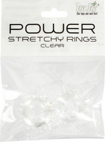 Power stretchy rings clear 2pcs 9937tj, ���� 3