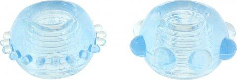 Power stretchy rings blue 2pcs 9938tj, ���� 2