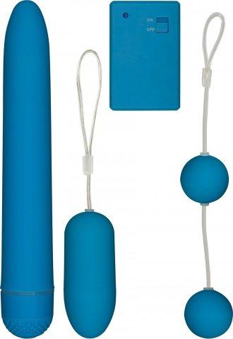 Dtj9976 Набор вибратор, шарики вагинальные 17 см