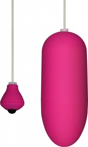 Виброяйцо funky egg on a wire pink