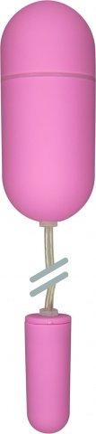 Двойное виброяйцо Crystal Duo Bullet, цвет Розовый