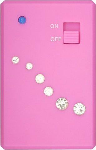 Двойное виброяйцо Crystal Duo Bullet, цвет Розовый, фото 3