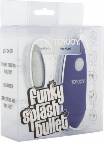 Вибропуля Funky Splash Purple 10084TJ, фото 2