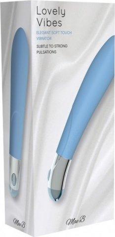 Вибромассажер, цвет Голубой, фото 3