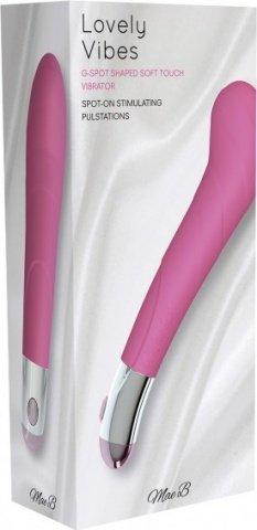 Вибромассажер, цвет Розовый, фото 2