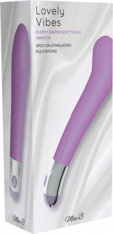 Вибромассажер Lovely Vibes G-spot, цвет Фиолетовый, фото 3