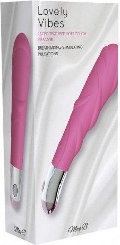 Вибростимулятор, цвет Розовый, фото 3