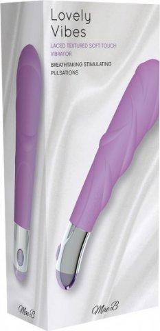 Вибростимулятор, цвет Фиолетовый, фото 3