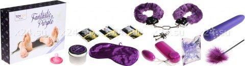 Эротический набор fantastic purple sex toy kit, фото 2