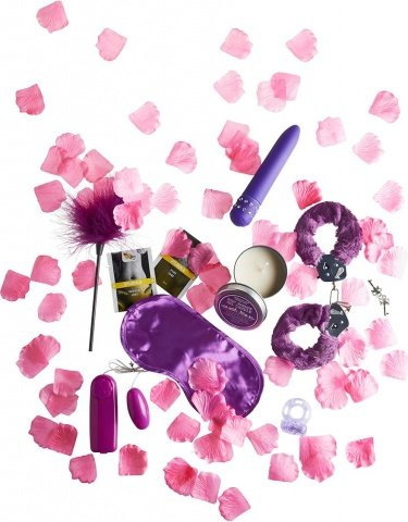 Эротический набор fantastic purple sex toy kit, фото 3