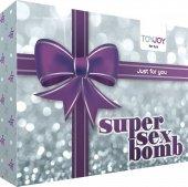 Эротический набор super sex bomb purple - Секс-шоп Мир Оргазма