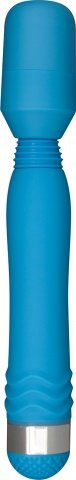 Вибратор Funky Wand Massager, силикон, голубой, 30 х200 мм 20 см
