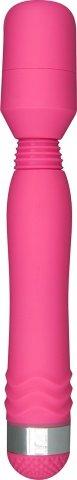 Вибратор Funky Wand Massager, силикон, розовый, 30 х200 мм 20 см
