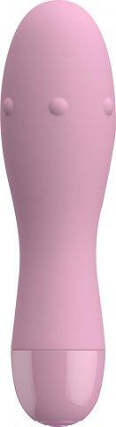 Нежно-розовый вибратор donna - 12 см