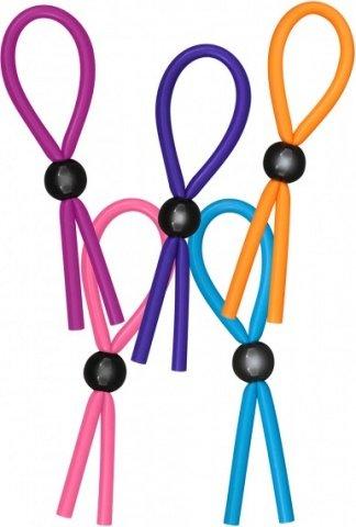 Набор разноцветных утяжек funky adjustable cring disp 25pcs