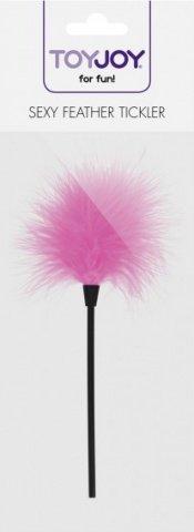 Кисточка для игр sexy feather tickler pink, фото 2