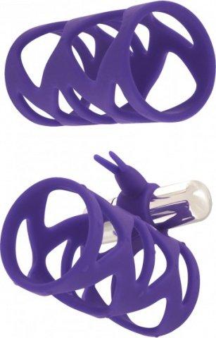 Насадкаtickler bunny sleeve set purple