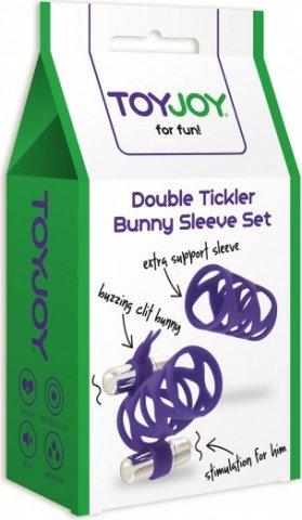 ������� double tickler sleeve set purple, ���� 2