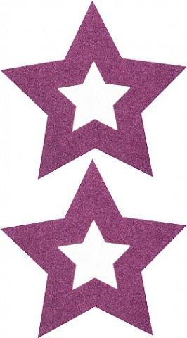 Пестисы открытые звезды фиолетовые sh-ouns001pur