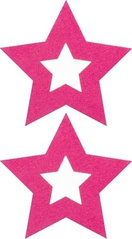 Пестисы открытые звезды розовые sh-ouns001pnk