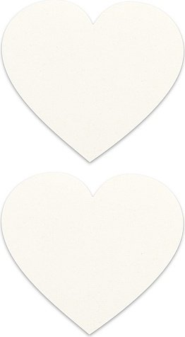 Пестисы сердце белые sh-ouns002wht