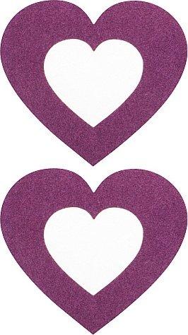 Пестисы сердечко фиолетовые sh-ouns003pur