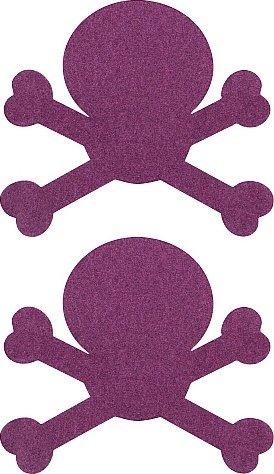 Пестисы череп фиолетовые sh-ouns008pur